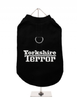 ''Yorkshire Terror'' Harness-Lined Dog T-Shirt